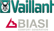 Vaillant and Biasi Boiler Logos